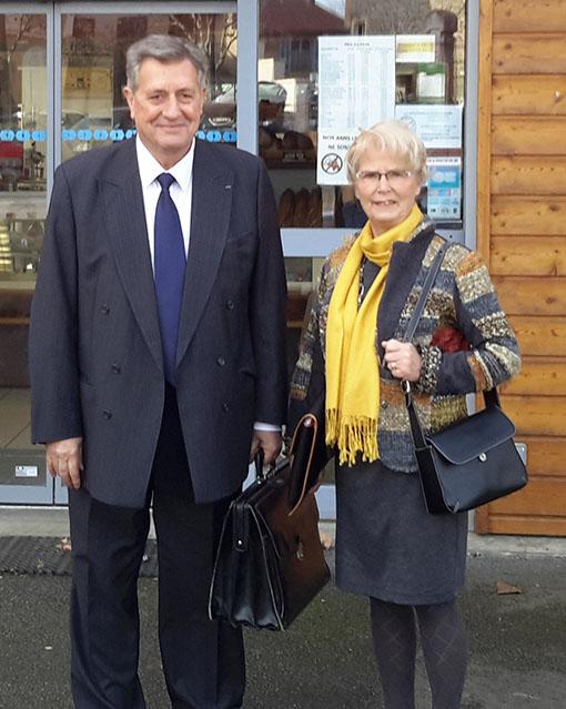 Alain Emery et Lucie Fontanelle
